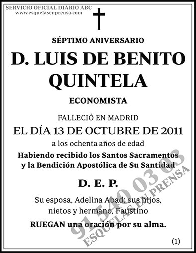 Luis de Benito Quintela